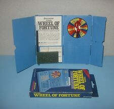 1988 Pressman Travel Wheel of Fortune Game Compact  Word Fun on the Go