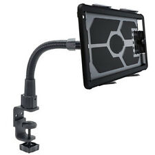 Apple iPad Mini Nexus 7 Tablet HeavyDuty CLAMP DESKTOP BED Handle Bar Rail MOUNT