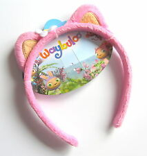 Waybuloo De Li Fluffy Ears Pink & Yellow Hair Alice Head Band