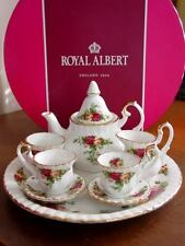 Royal Albert OLD COUNTRY ROSES Le Petite  Mini Tea Set  - NEW!
