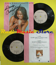 LP 45 7'' RANDY CRAWFORD Look who's lonely now Don't come knockin no cd mc dvd