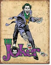 The Joker Retro Novelty TIN SIGN DC Comics Batman Wall Poster Decor