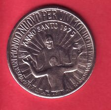 R* ITALY VATICAN MEDAL ANNO SANTO 1975 PEACE in the WORLD aUNC/UNC DETAILS