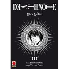 DEATH NOTE BLACK EDITION 3 (DI 6) PLANET MANGA - RISTAMPA - NUOVO