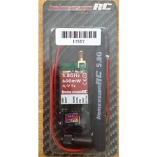 Immersion RC FPV TX 600mW 5,8 GHz AV AUDIO / VIDEO TRASMETTITORE WIRELESS fatshark