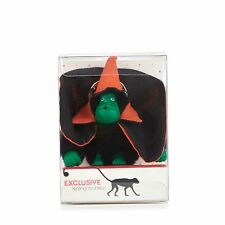 BNIB Kipling HALLOWEEN Monkey Keychain / Keyring BLACK, GREEN, ORANGE RRP £16