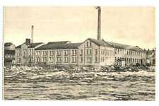 Finland Finnish Town View Imatra Paper Factory PC 1920s