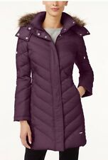 NWT KENNETH COLE PLUS SIZE WOMEN CHEVRON DOWN HOODED JACKET COAT CONCORD SIZE 2X