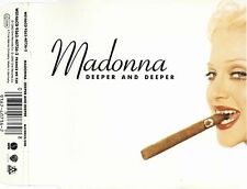 MADONNA - DEEPER AND DEEPER 1992 INLAY SLEEVE ONLY W0146CD