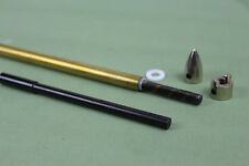 "1/4"" 6.35mm flex shaft cable drive dog prop nut and brass tube for rc boat"