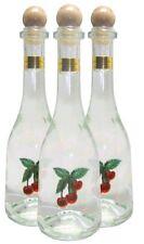 3 Flaschen Prinz Kirschwasser 0,5l - Spirituose aus Österreich in Rustikaflasche