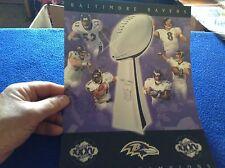 Baltimore Ravens Super Bowl Trophy Poster