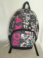 USED Ladies / Girls Roxy Backpack With Laptop Compartment