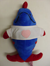 Blue and Red Dolphin Soft Toy