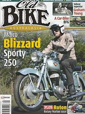 MAICO 250 Royal Enfield Flying Flea Norton Rotary Racer Graham Young OLD BIKE 38