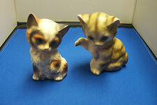 PAIR OF VINTAGE CATS - MADE IN JAPAN