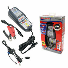 OPTIMATE 4 DUAL MOTORCYCLE 12V BATTERY CHARGER OPTIMISER SAE LATEST DESIGN