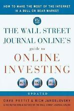 The Wall Street Journal Online's Guide to Online Investing: How to Mak-ExLibrary