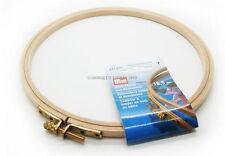TELAIO da per Ricamo 19cm in legno faggio spessore 8mm Prym lavori a mano 611677