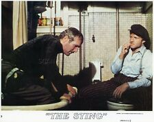 PAUL NEWMAN ROBERT REDFORD L'ARNAQUE THE STING 1973 VINTAGE LOBBY CARD #1