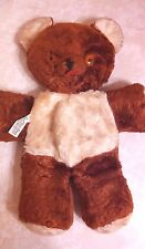 Vintage Cubbi Gund Plush Bear With Tongue Sticking Out & Body Tag J. Swedlin Inc