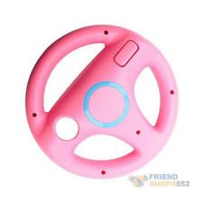 Pink Steering Wheel For Wii Nintendo MARIO KART RACING Game Remote Controller