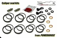 Suzuki GSX-R 1100 front brake caliper seal repair rebuild kit K 1989 L 1990 GV73