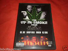 THE UP IN SMOKE TOUR FEATURING DR.DRE SNOOP DOG EMINEM ICE CUBE DVD COMPLET