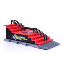 Finger whip skateboard ramp & skate park play set Mini Fingerboards Kit F#