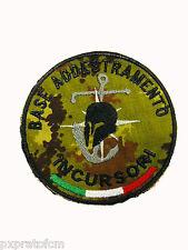Patch 9 Col Moschin Base Addestramento Incursori Mimetica Vegetata Toppa Milita