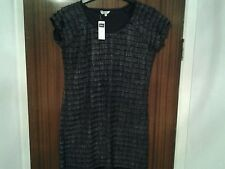 Gorgeous size 18 womens dark grey/black ribbed top by M&Co. Never worn.