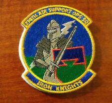USAF FLIGHT SUIT PATCH, 274TH AIR SUPPORT OPERATIONS SQUADRON, WITH VELCR