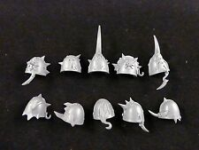 40K Chaos Space Marines : Possessed Squad Shoulder Pads Set (10)