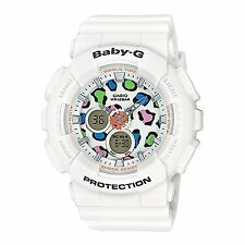 Casio Baby G G-Shock Animal Print Dial Quartz Ladies Watch BA120LP-7A1