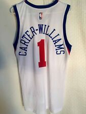 Adidas SWINGMAN 14-15 NBA Jersey 76ers Michael Carter-Williams White sz 2X