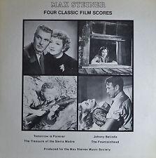 """MAX STEINER - FOUR CLASSIC FILM SCORES  12"""" 2 LP  (Q310)"""