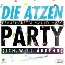 """DIE ATZEN """"PARTY (ICH WILL ABGEHN)""""  CD SINGLE NEU"""
