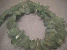 Chinese Aquamarine Freeform Beads 55pcs