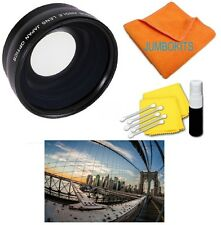 Wide Angle Fisheye Lens for Canon EF 50mm f/1.8 II HD FOR CANON  T3I T4I SL1 60D