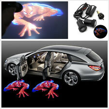 2X Car door Led Welcome laser projector Logo Ghost Shadow Light For Chevrolet