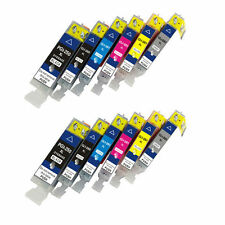 Ink Cartridge for Canon PGI-250XL CLI-251XL(Pack of 2 X 6-Color)