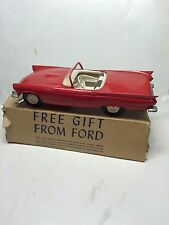 Vintage 1957 Ford Thunderbird Convertible Factory Promotional AMT Model,Box