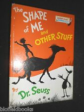 The Shape of Me and Other Stuff by Dr. Seuss (Hardback, 1974-1st) Children's HB