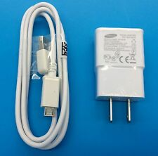 SAMSUNG Galaxy S2 S3 S4 S5 Active Micro USB Data Cable Home Wall Charger OEM
