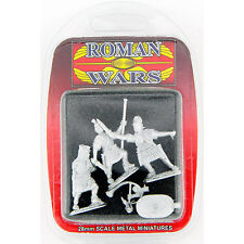 Roman Wargaming Centurion Optio Cornicen Metal 28mm Figures PA60063