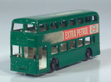 "Matchbox No74 Lesney Daimler Bus Double Decker 3"" Scale Model Esso Petrol Green"