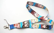 Attack on Titan Characters Fabric Keychain Lanyard #2