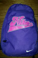NIKE Small Mini Toddler Child BACKPACK Day Bag BA2755-561 Purple Pink Excellent