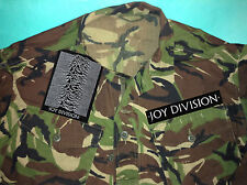 Joy Division Unknown Pleasures Closer Still Apart Camouflage Army Shirt Jacket