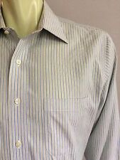 Brooks Brothers Shirt, Quinn Stripes, L (16, 32), Slim Fit, Non-Iron
